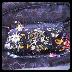 Gucci Satin Floral Purse